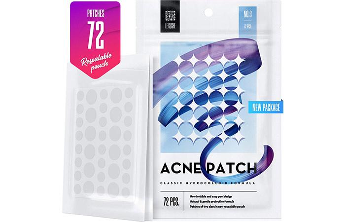Acne Patch Classic Hydrocolloid Formula 72 dots