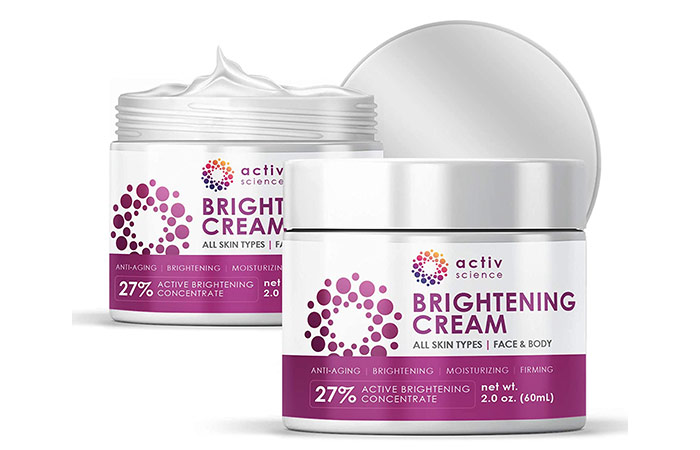 Active Science Brightening Cream