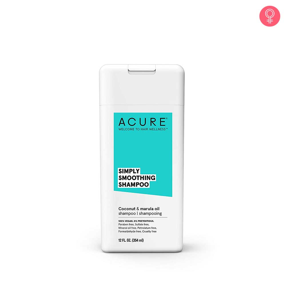 Acure Simply Smoothing Shampoo, Coconut & Marula