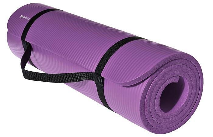 AmazonBasics 12-Inch Extra Thick Exercise Yoga Mat