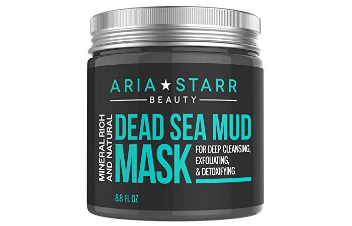 Aria Starr Mineral Rich And Natural Dead Sea Mud Mask