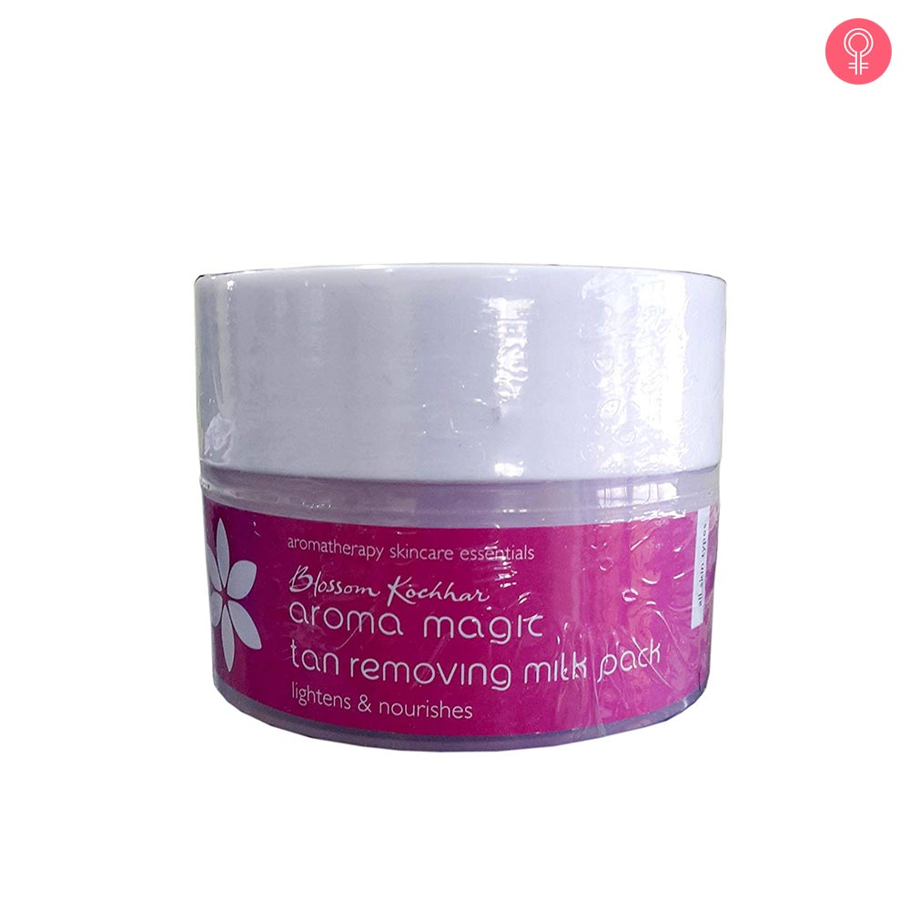 Aroma Magic Tan Removing Milk Face Pack