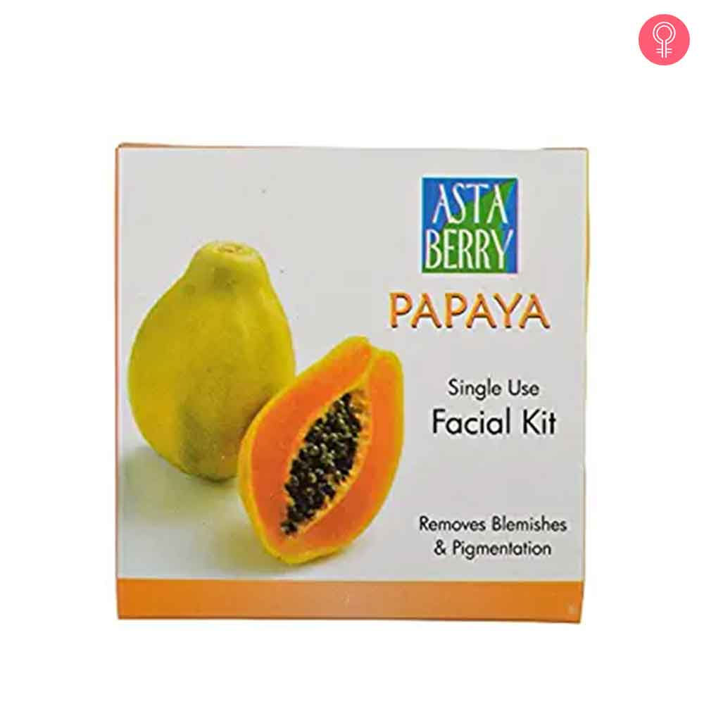Astaberry Papaya Facial Kit