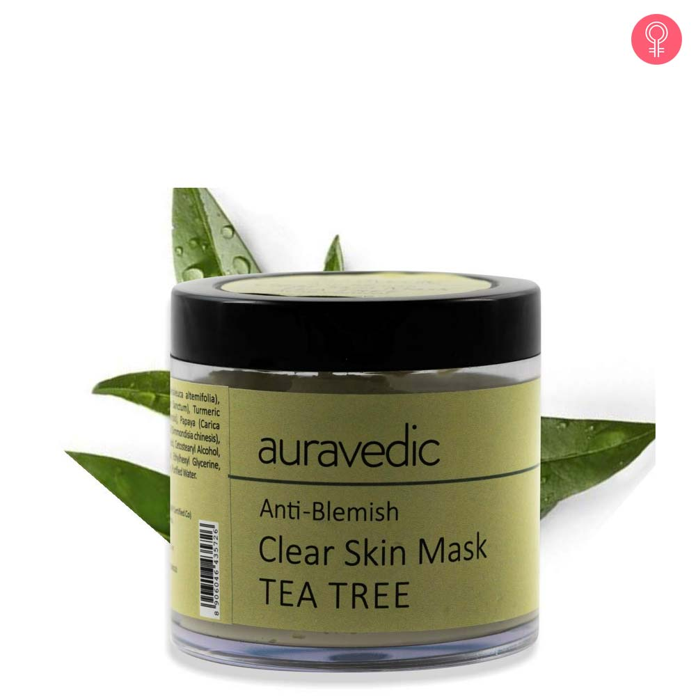 Auravedic Anti Blemish Face Mask