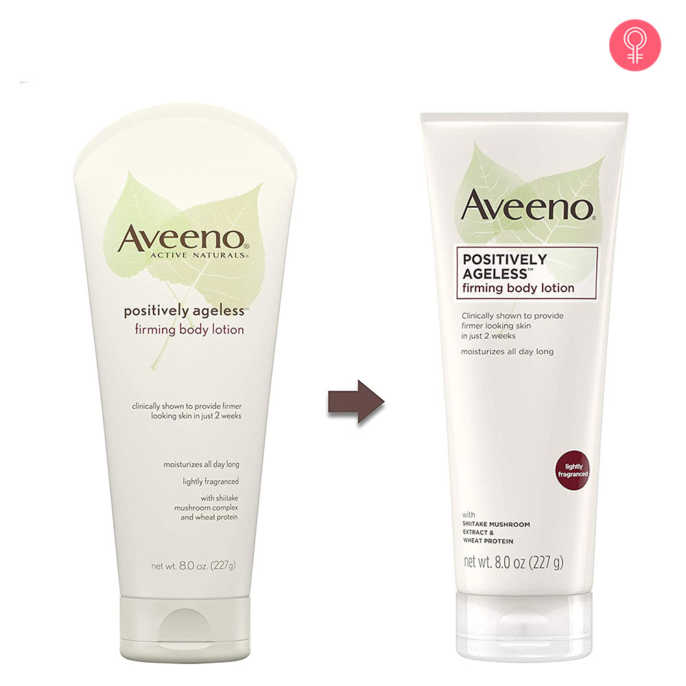 Aveeno Positively Ageless Firming Body Lotion-1