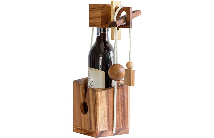 BSiri Wine Bottle Puzzle Game
