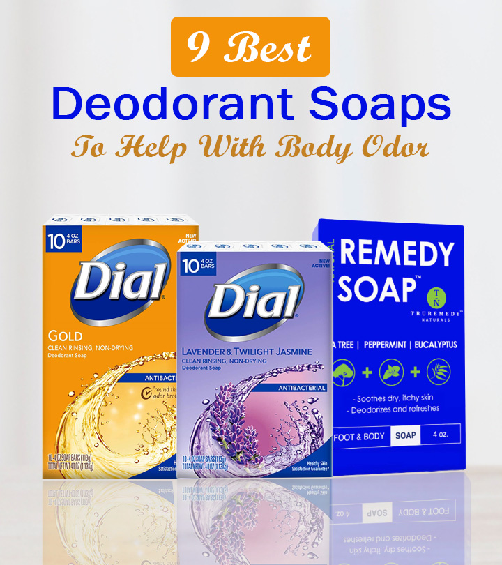 9 Best Deodorant Soaps To Help With Body Odor