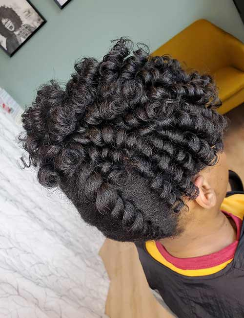 Big Flat Twists And Ringlets