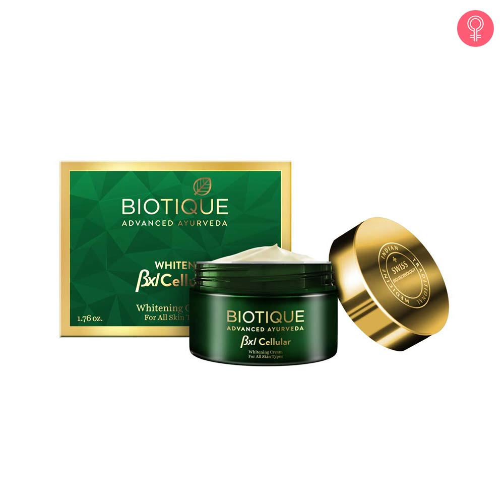 Biotique Bxl Cellular Coconut Whitening Cream