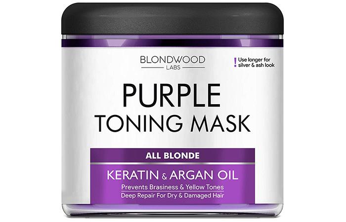 Blondwood Labs Purple Toning Hair Mask