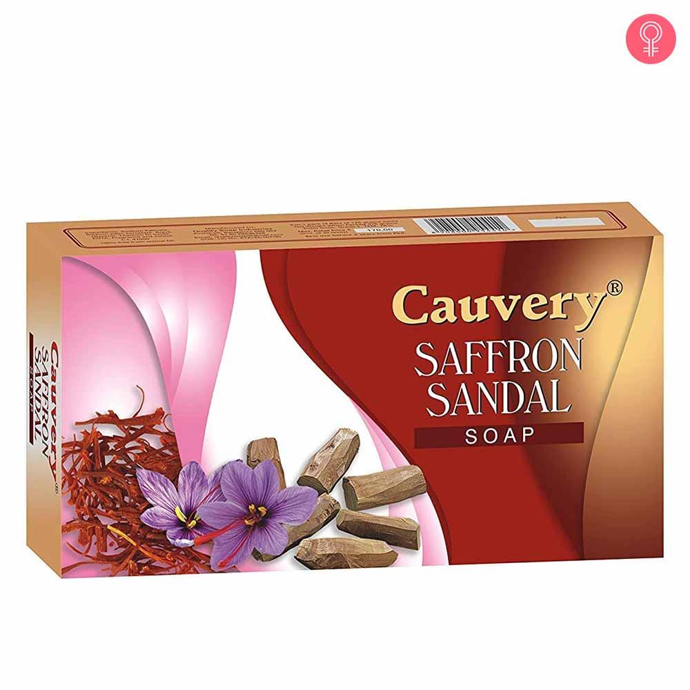 Cauvery Saffron Sandal Soap