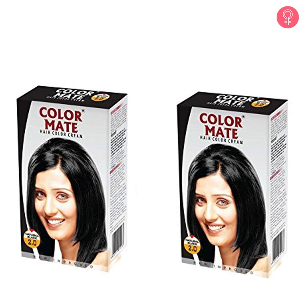 Color Mate Hair Color Cream