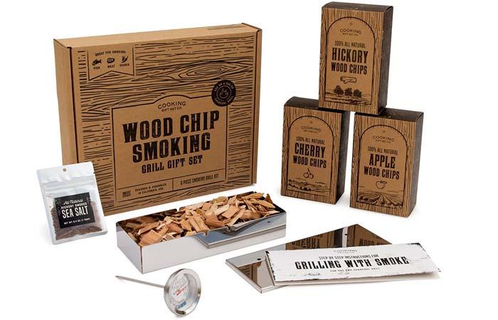 Cooking Gift Set Co. BBQ Smoker Box Set