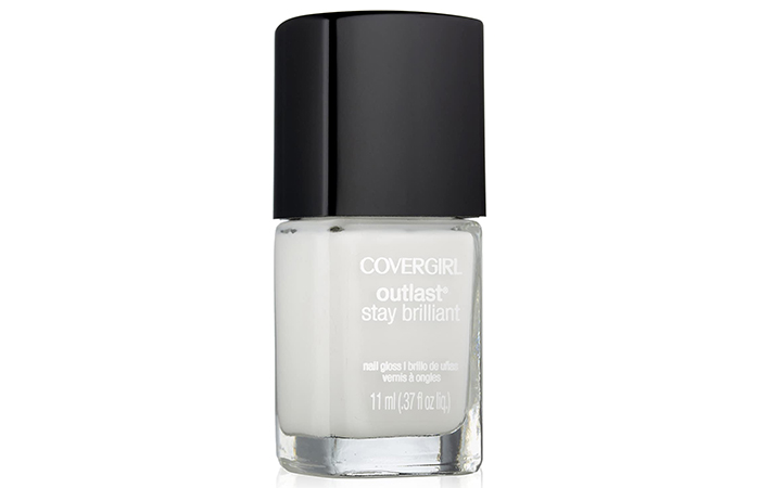 Covergirl Outlast Stay Brilliant Nail Gloss – Snow Storm