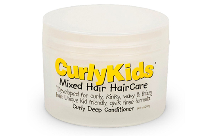 Curly Kids Mixed Hair