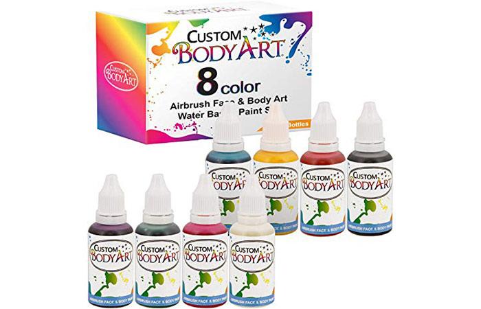 Custom Body Art 8 Color Airbrush