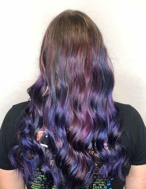 Deep Mermaid Hair