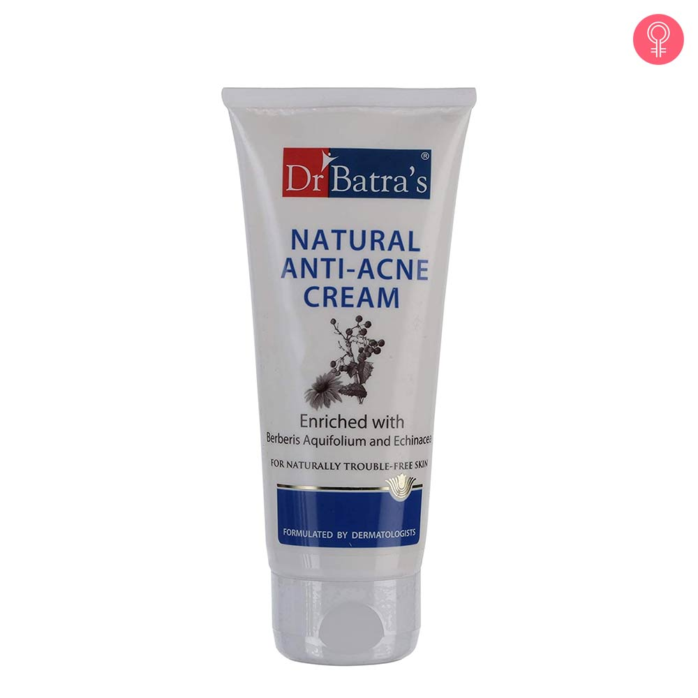 Dr Batra's Natural Anti Acne Cream
