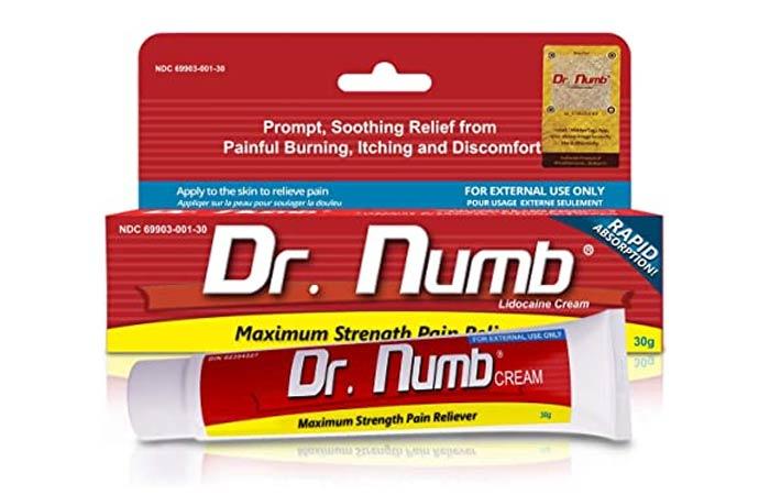 Dr Numb Cream Maximum strength Pain Reliever