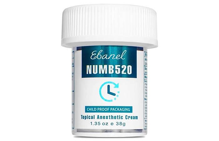 Ebanel 5 Lidocaine Topical Numbing Cream Maximum Strength