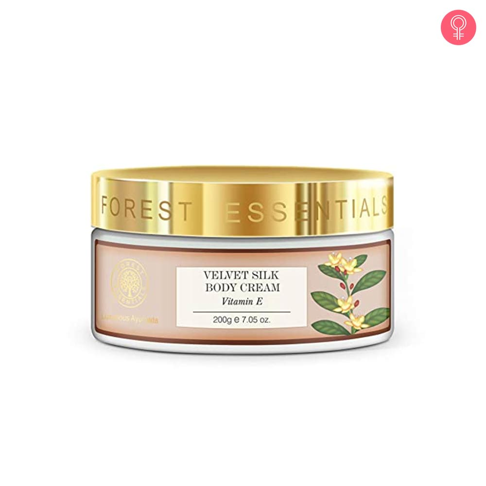 Forest Essentials Velvet Silk Body Cream