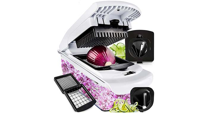 Fullstar Vegetable Chopper And Spiralizer