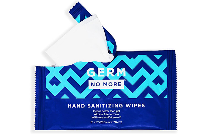 Germ No More Hand Sanitizing Wipes