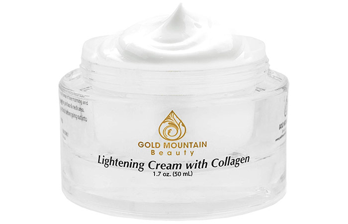Gold Mountain Beauty Lightening Cream With Collagen