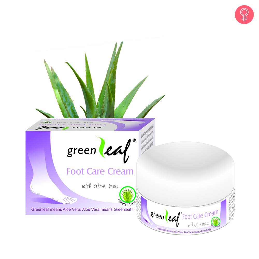 Green Leaf Foot Care Cream