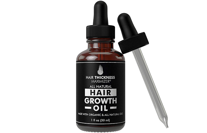 Hair Thickness Maximizer All Natural Hair Growth Oil