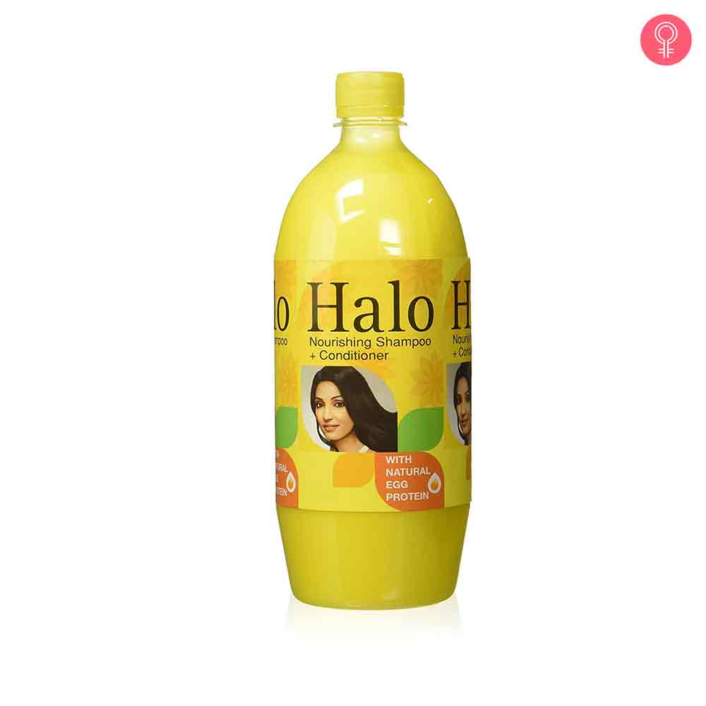 Halo Nourishing Shampoo with Natural Egg Protein & Egg