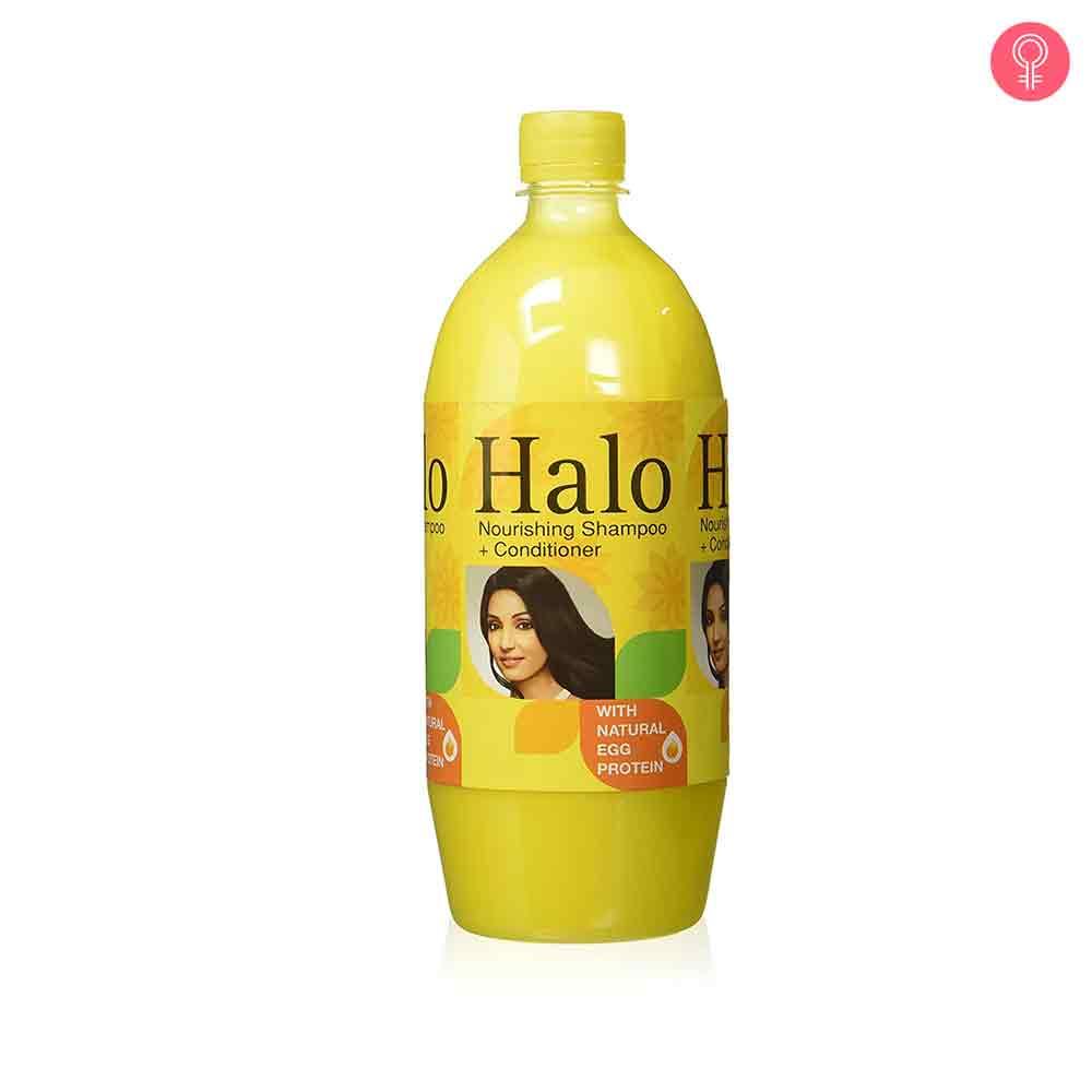 Halo Nourishing Shampoo with Natural Egg Protein & Egg