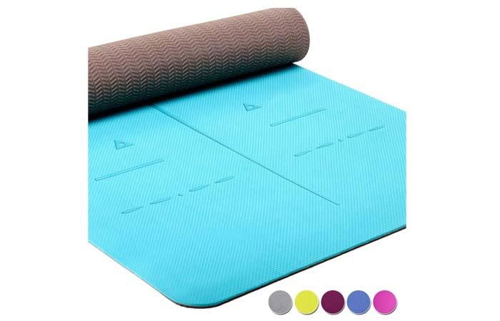 Heathyoga Eco-Friendly Non-Slip Yoga Mat