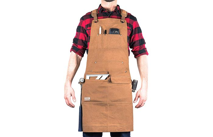 Hudson Waxed Canvas Apron