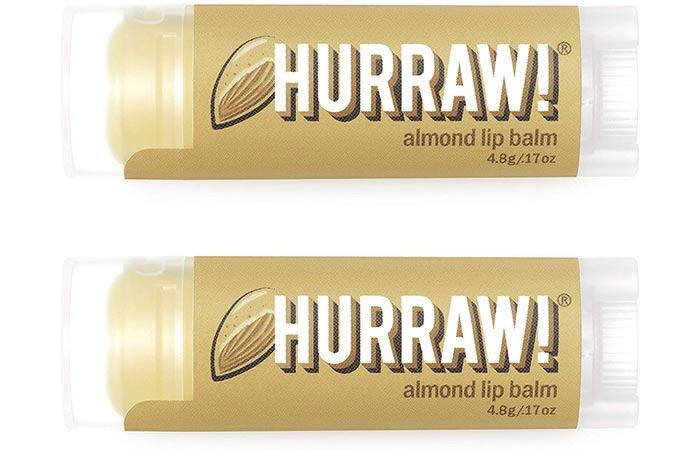 Hurraw Almond Lip Balm