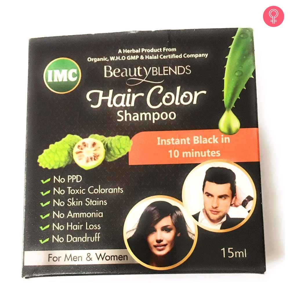 IMC Beauty Blends Organic Noni Hair Color Shampoo