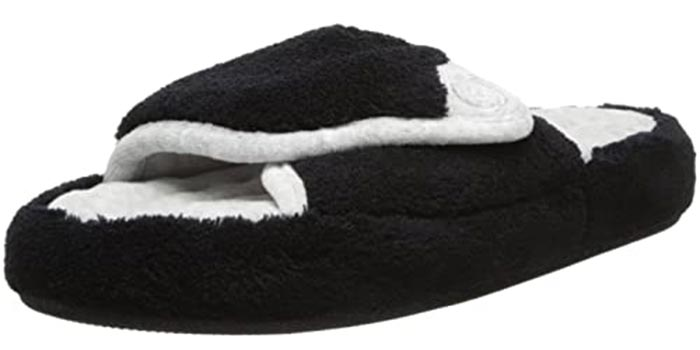 ISOTONER Women's Microterry Pillowstep Spa Slippers