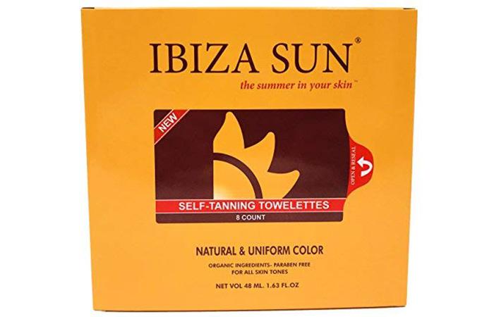 Ibiza Sun Self-Tanning Towelettes