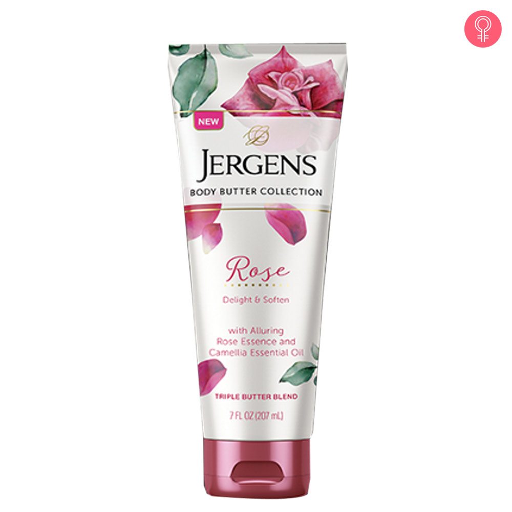 Jergens Rose Triple Butter Blend