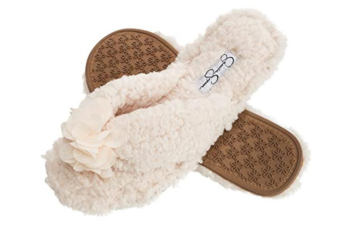 Jessica Simpson Spa Flip Flops