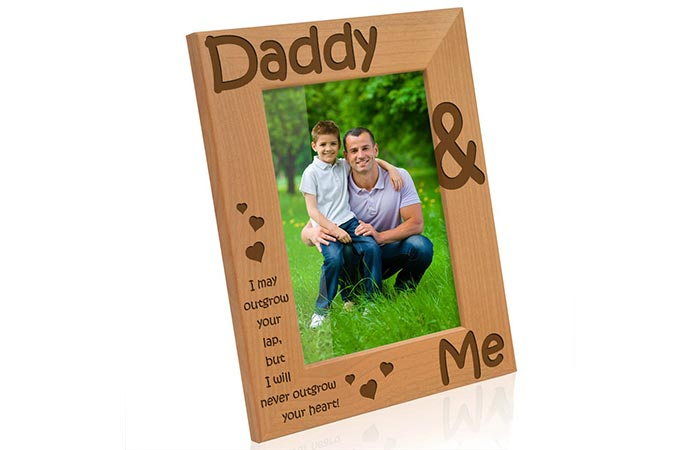 Kate Posh Daddy & Me Picture Frame