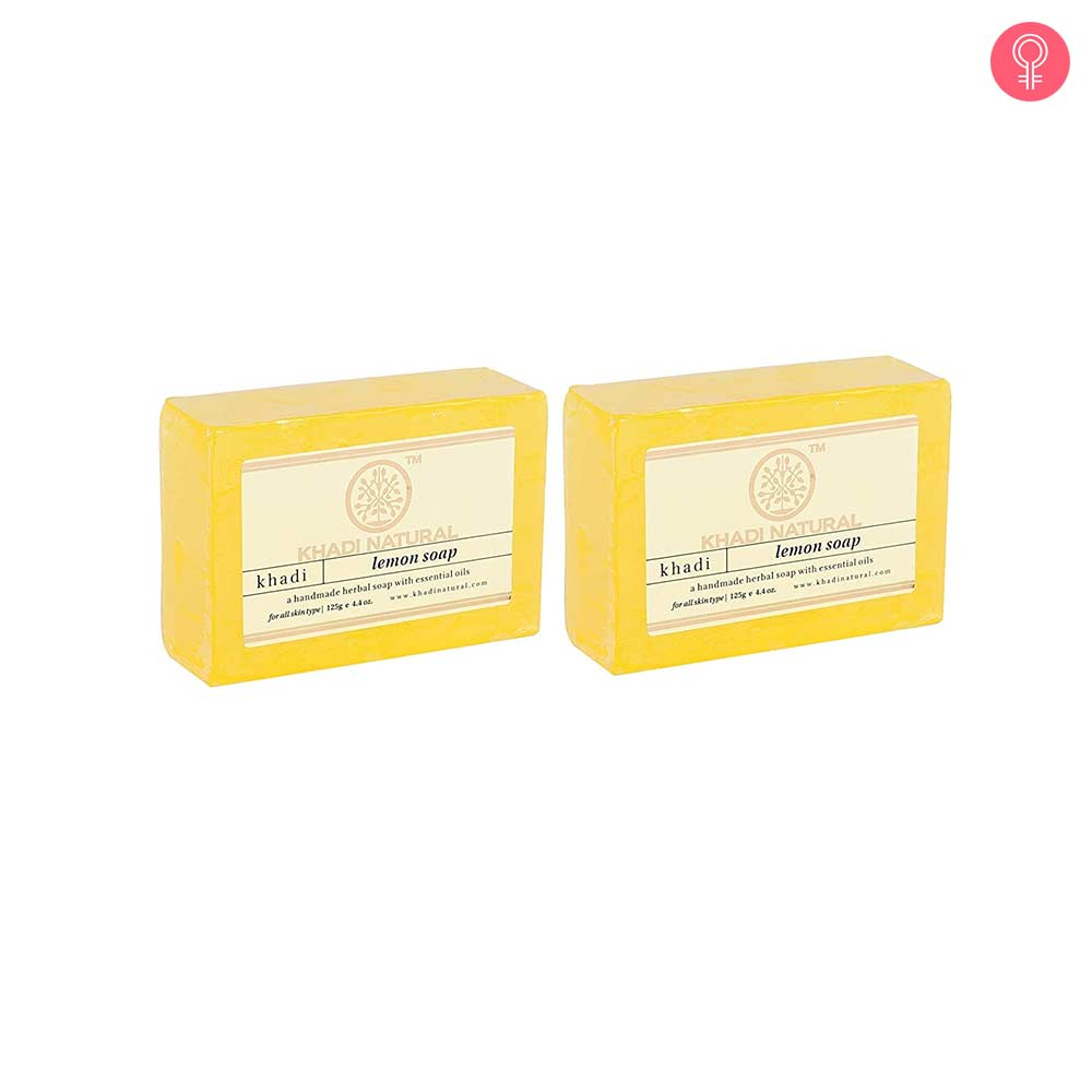 Khadi Natural Lemon Soap