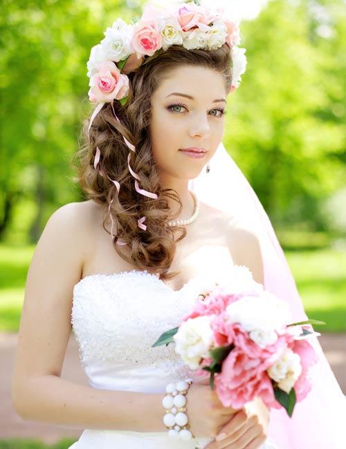 Kranzchen Braut Friseuren