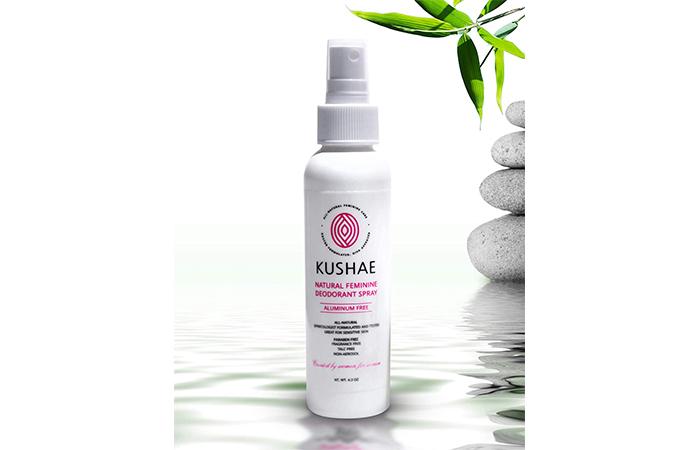 Kushae Natural Feminine Deodorant