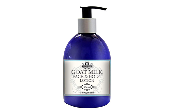 L&I Apothecary Deeply Moisturizing Goat Milk Lotion