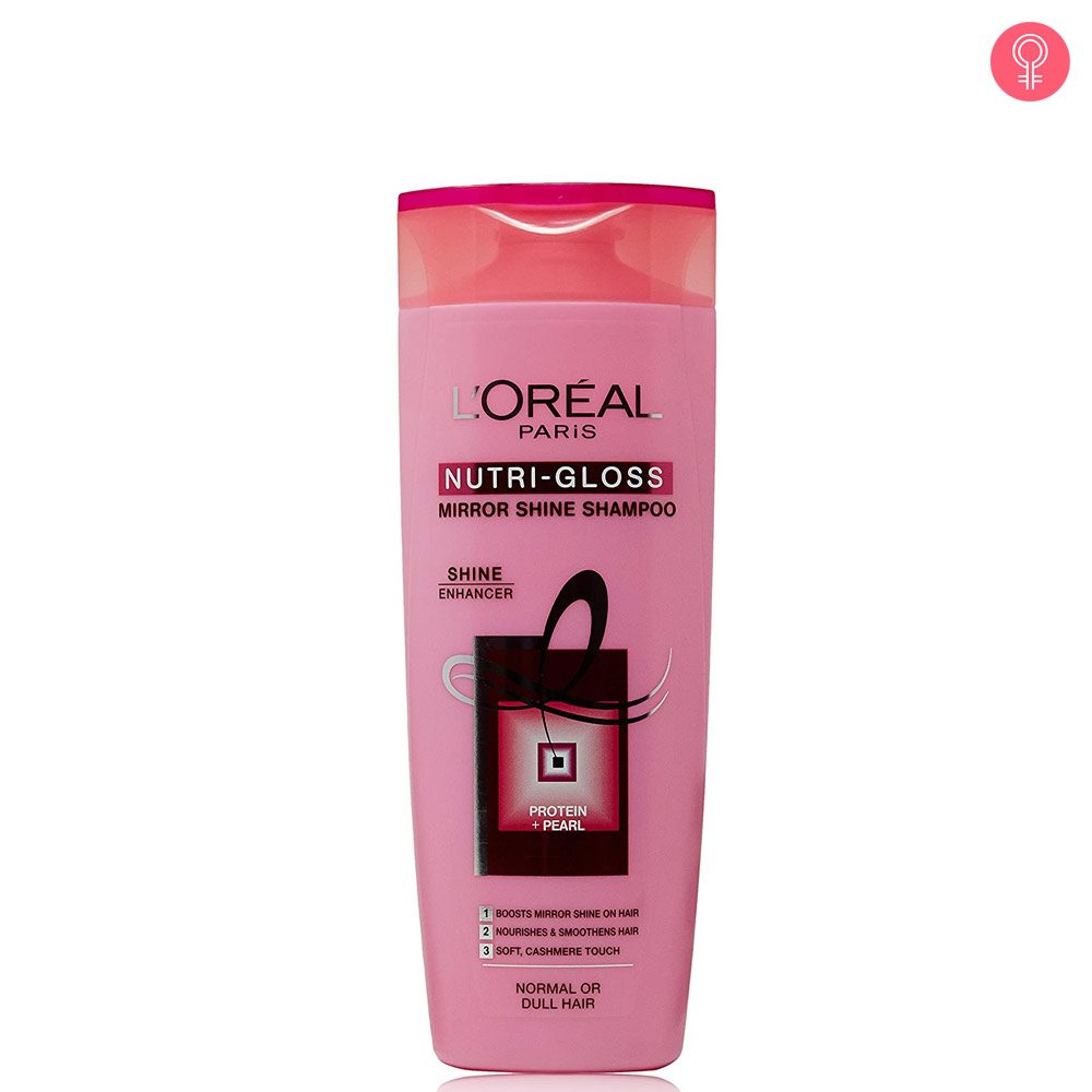 L'Oreal Paris Nutri Gloss Mirror Shine Shampoo