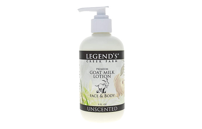 Legend's Creek Farm Unscented Goat Milk Lotion