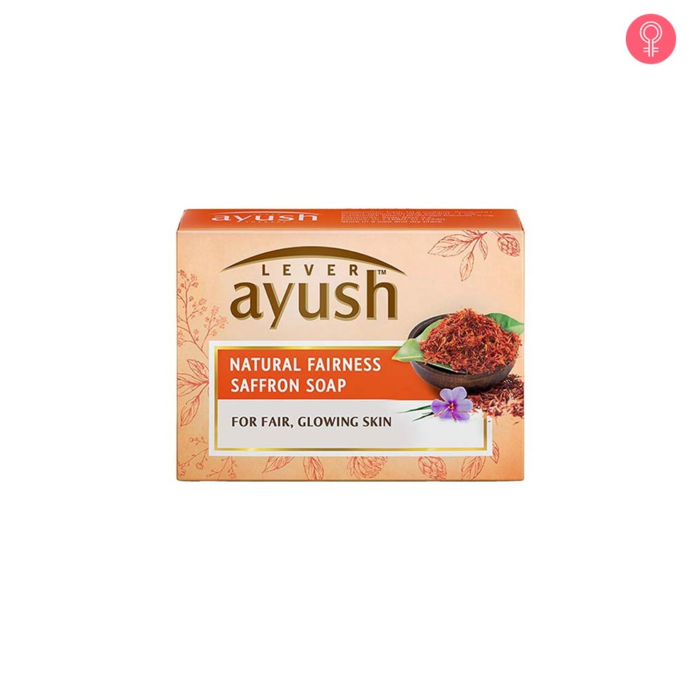 Lever Ayush Natural Fairness Saffron Soap