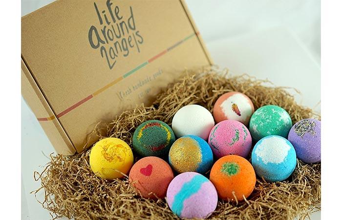Life Around2Angels Handmade Bath Bombs