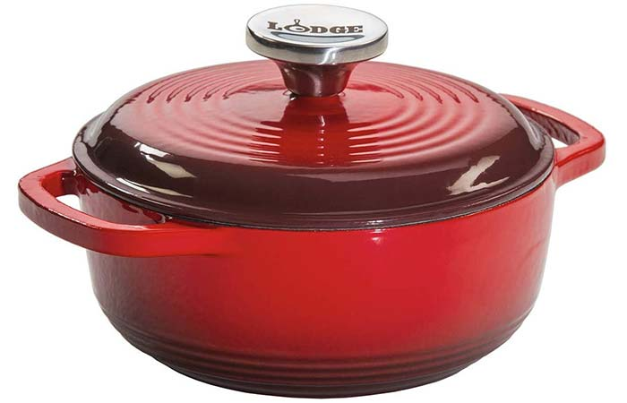 Lodge Enameled Cast Iron Dutch Oven